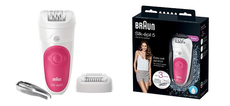 Braun Silk Epil 5 coffret