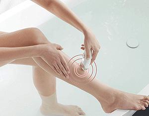 Silk Epil 9 utilisé dans le bain