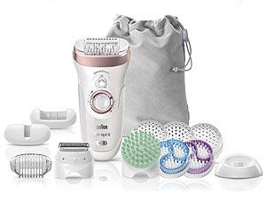 Le kit Braun Silk-Épil 9 Skin Spa